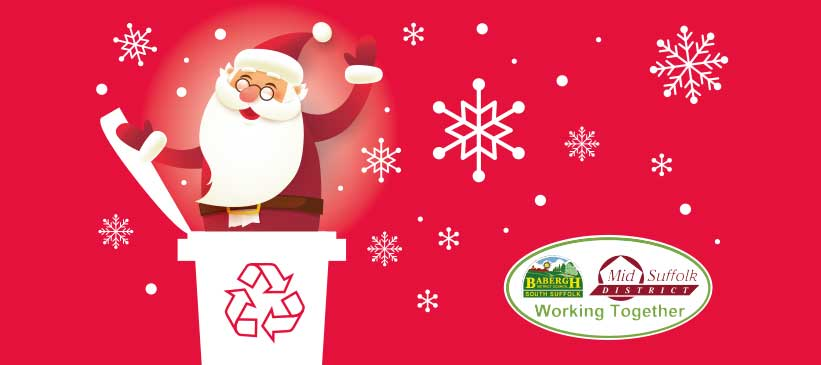 Christmas Waste Message from Babergh