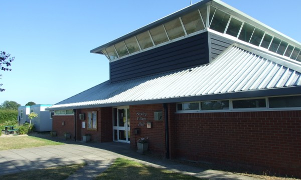 Front View of Shotley Village Hall