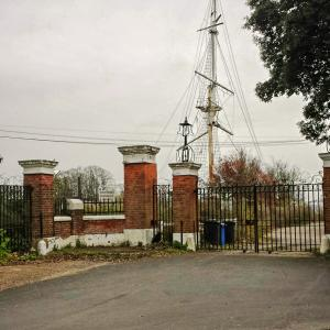 HMS Ganges Entrance
