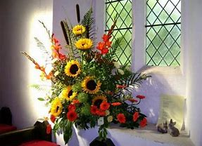 Flower Festival at St Mary's Church, Shotley